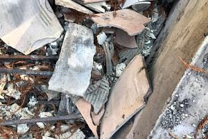 CZU Lighting Fire Debris Test